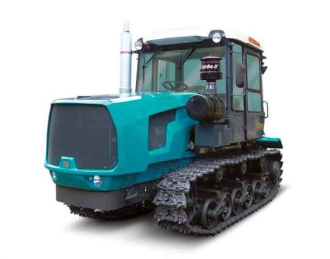 гусенечный трактор2