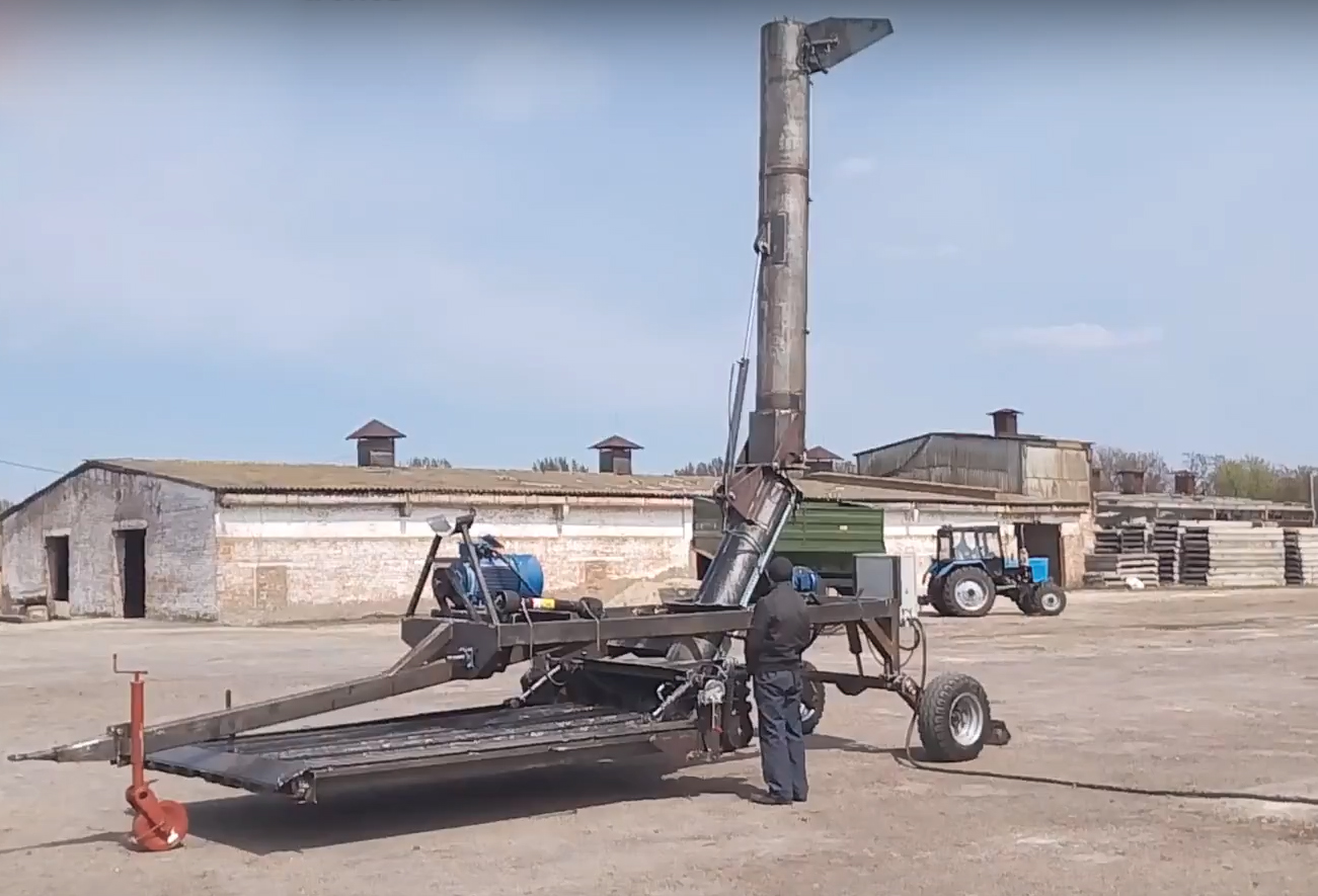 Разгрузчик вагонов мобильный РВМ-180-2
